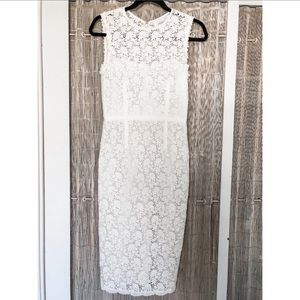 Jill Stuart cream lace dress